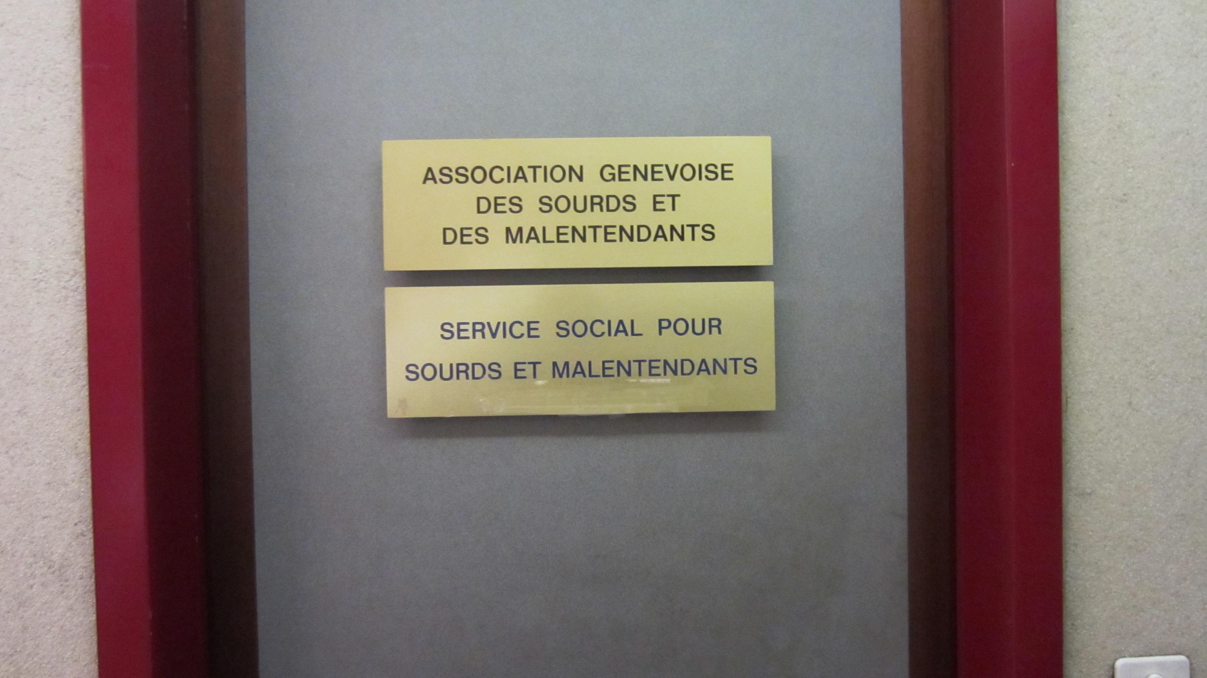 Service social pour sourds – AGM