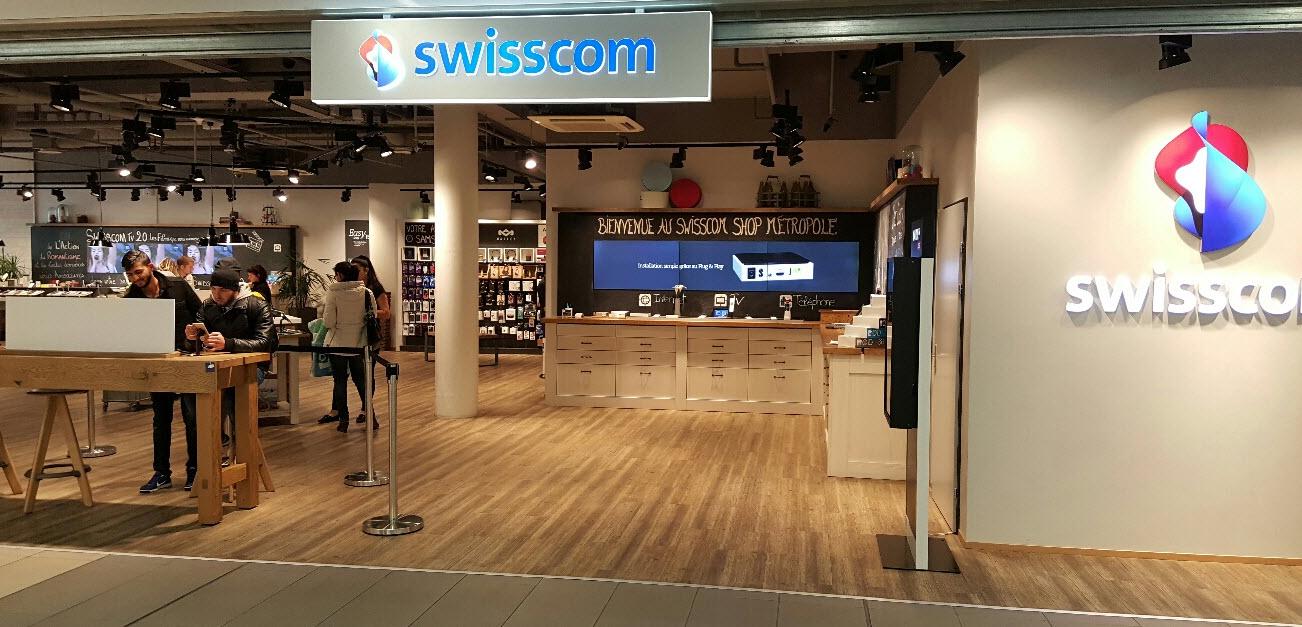 Swisscom shop Lausanne Métropole