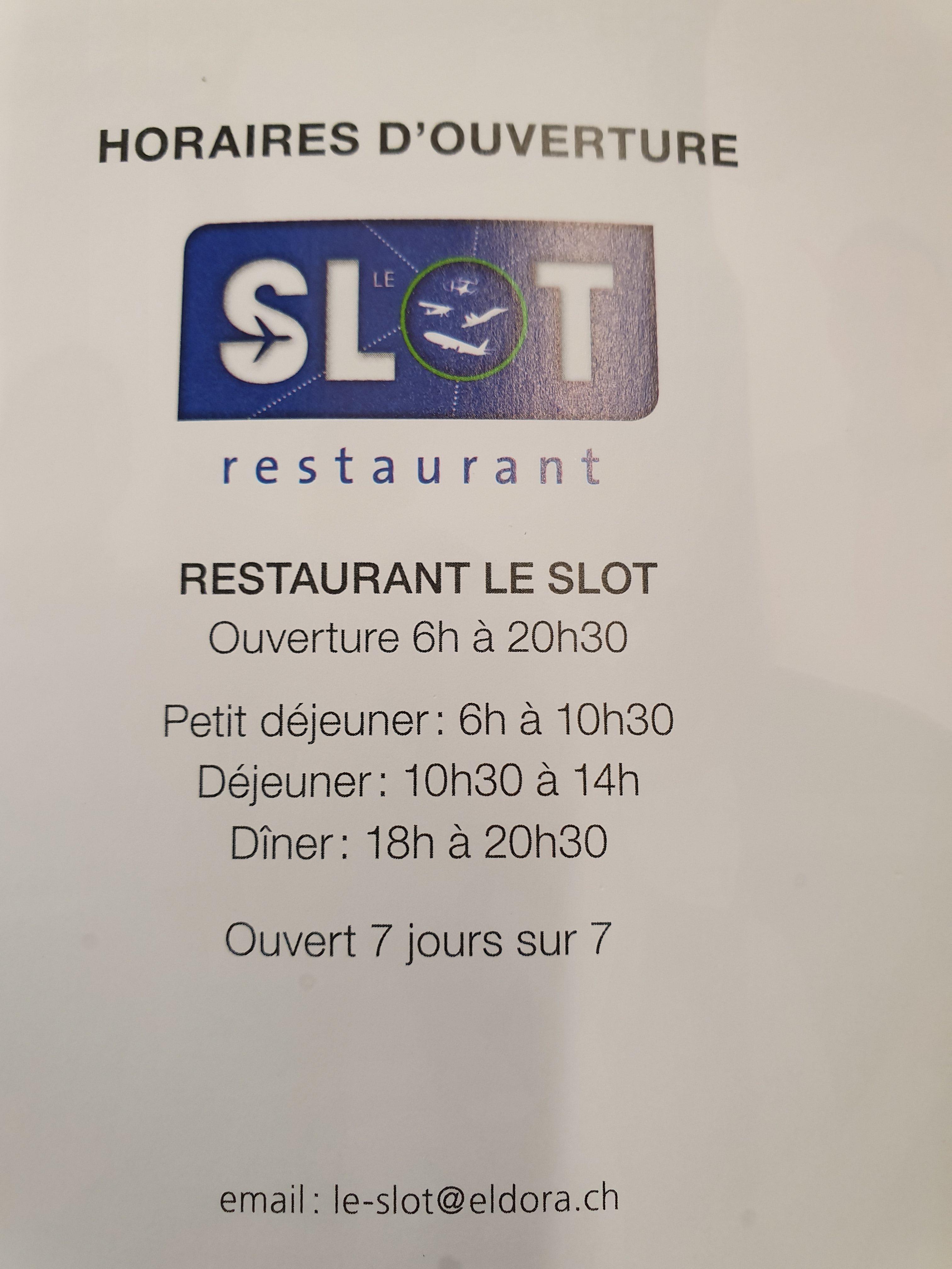 Restaurant Le Slot